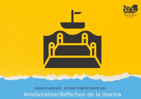 Budget participatif 2021 – Les citoyens choisissent de rafraîchir leur marina
